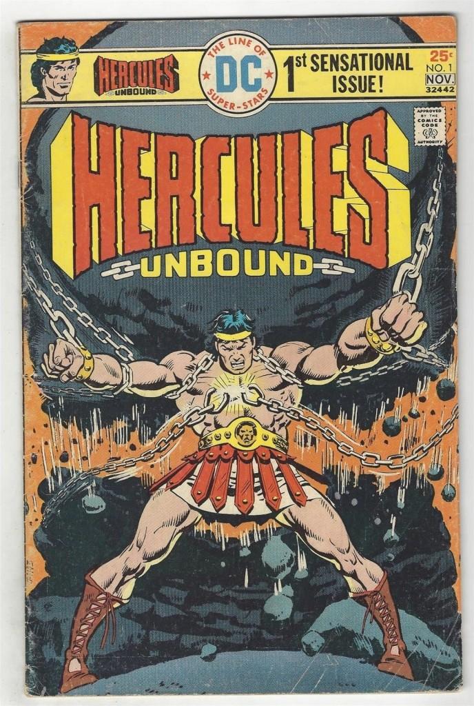 Hercules Unbound # 1