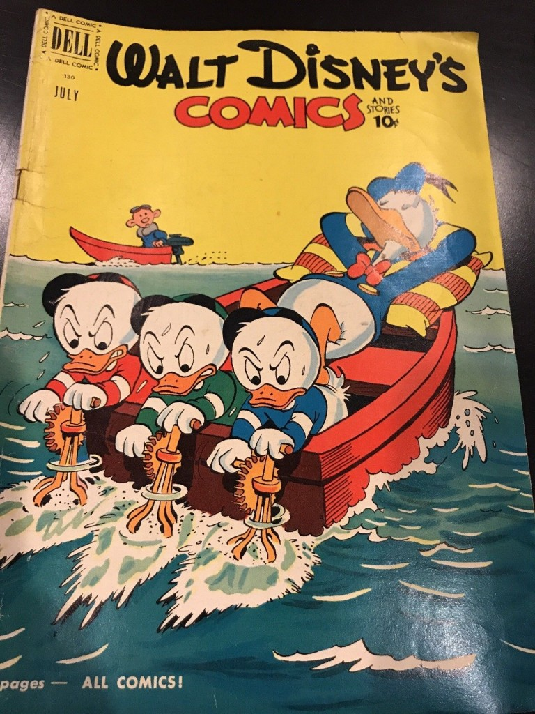 Walt Disney's Comics & Stories 130