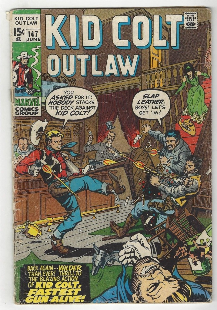 Kid Colt Outlaw 147