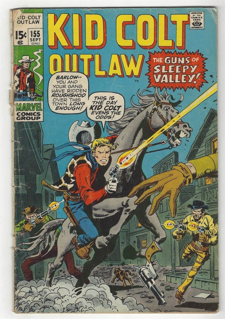 Kid Colt Outlaw 155