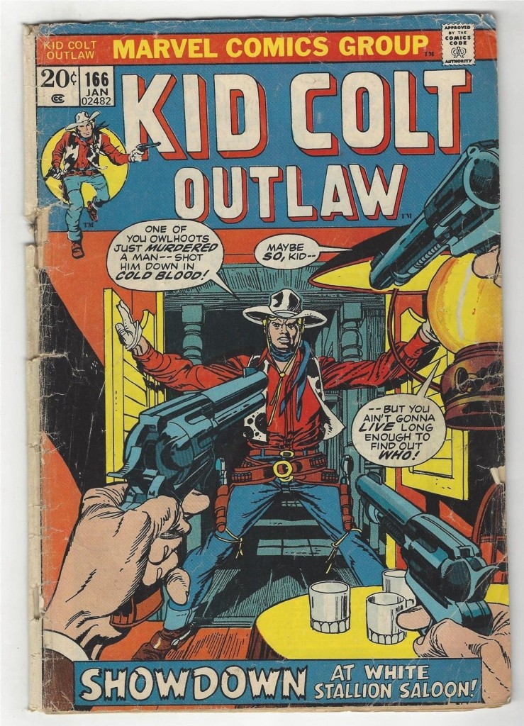 Kid Colt Outlaw 166