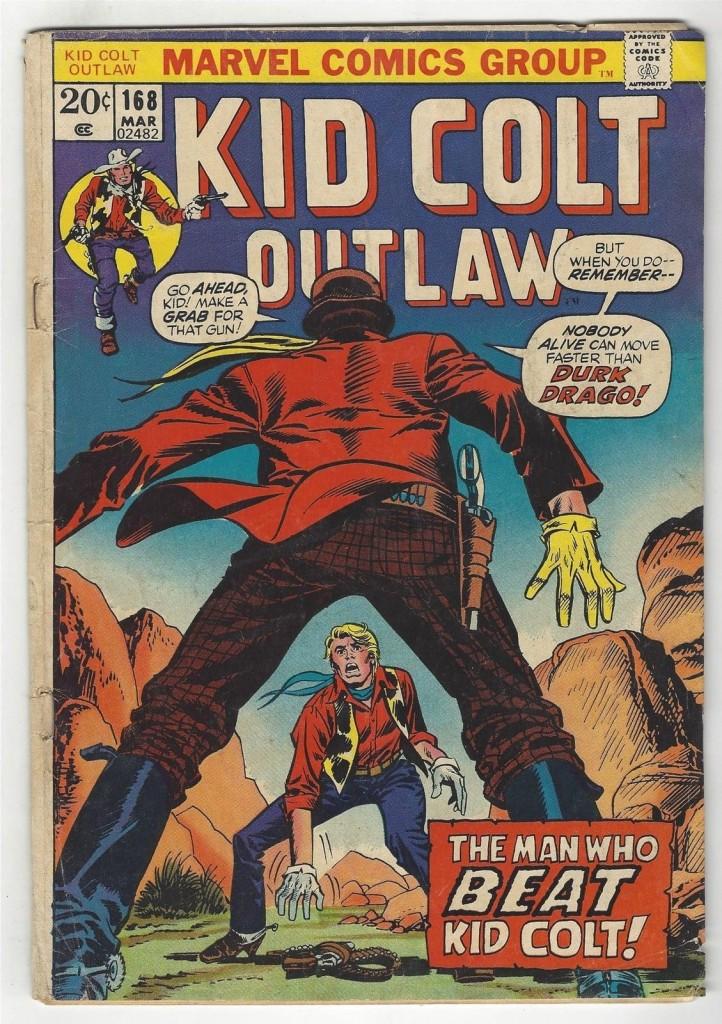 Kid Colt Outlaw 168