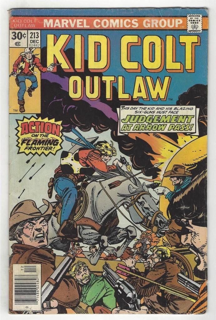 Kid Colt Outlaw 213