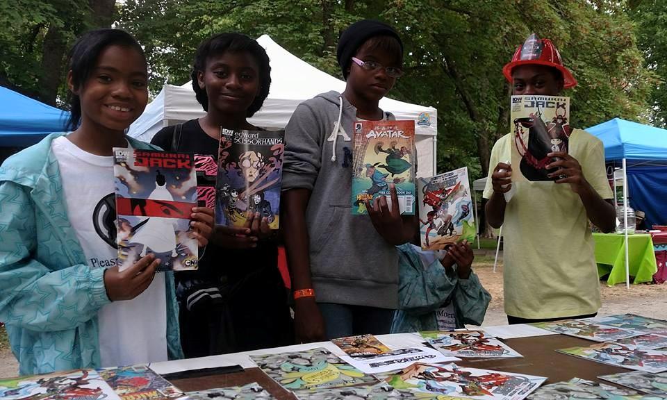 4 teens comics