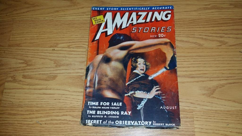 Amazing Stories  August 1939  $100.00