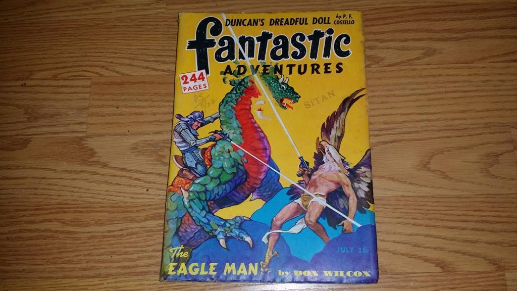 Fantastic Adventures July 1946 $25.00