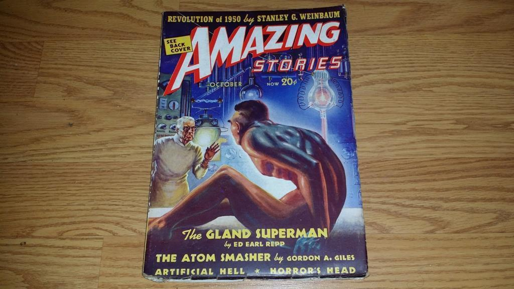 Amazing Stories October 1938 $100.00