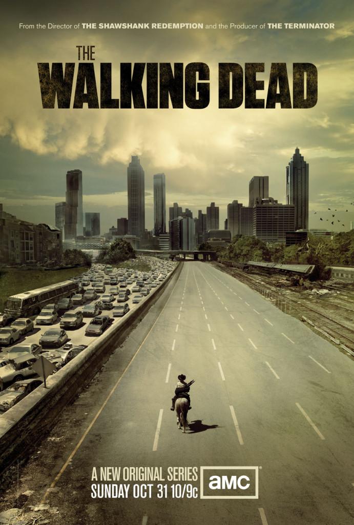 Walking Dead premiere poster Folded 24x36