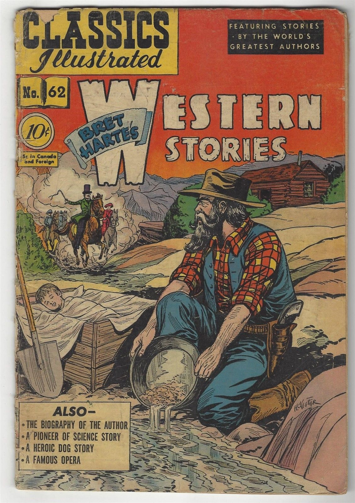 Classics Illustrated 62 (o)