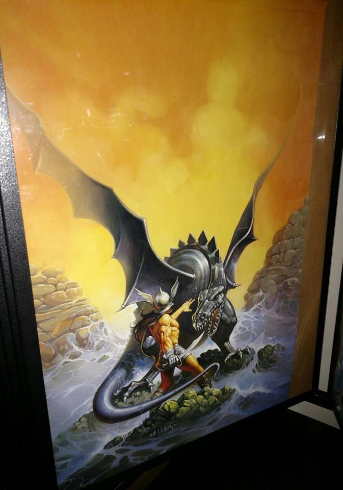 Barbarian Dragon $10
