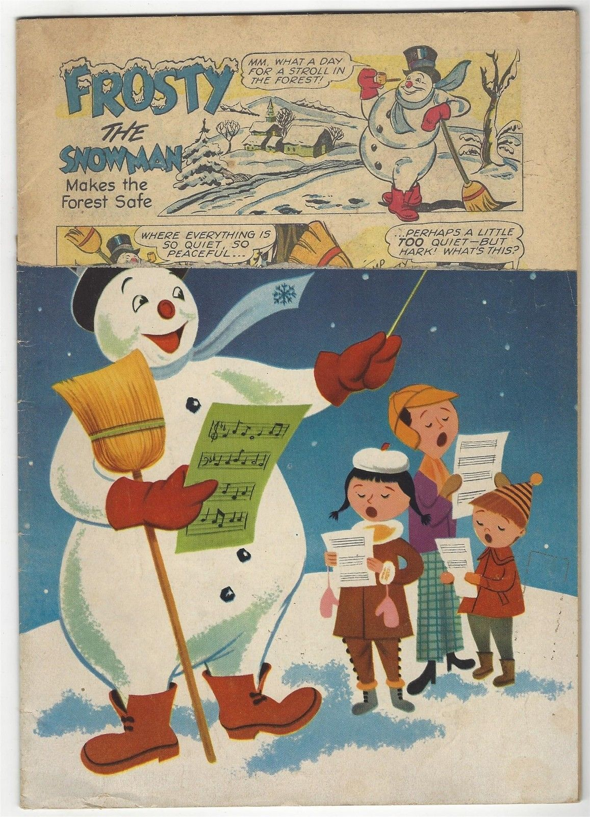Dell Four Color # 514 Frosty the Snowman