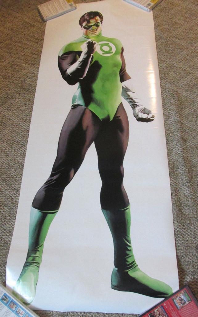 Green Lantern Door  Ross $20