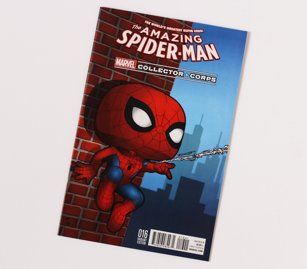 Amazing Spider-Man # 6   Marvel Collector Corps Variant sealed $10 includes shipping! ** Rated Teen+ **
