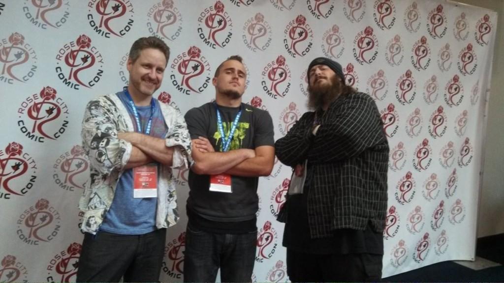 Warriors Three Rose City Comic Con