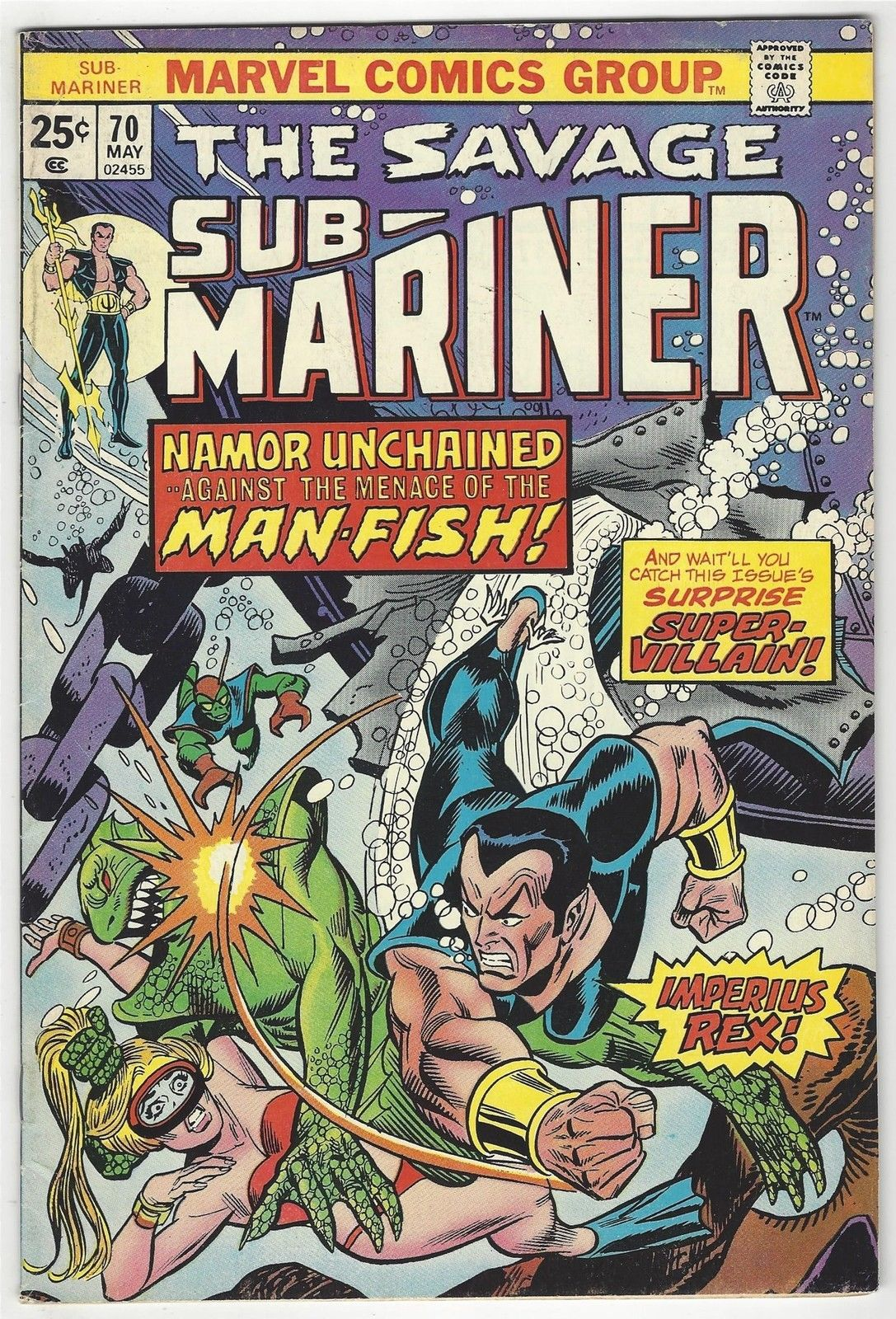 Savage Sub Mariner # 70