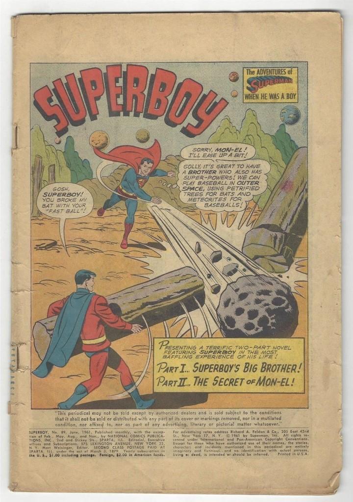 Superboy # 89