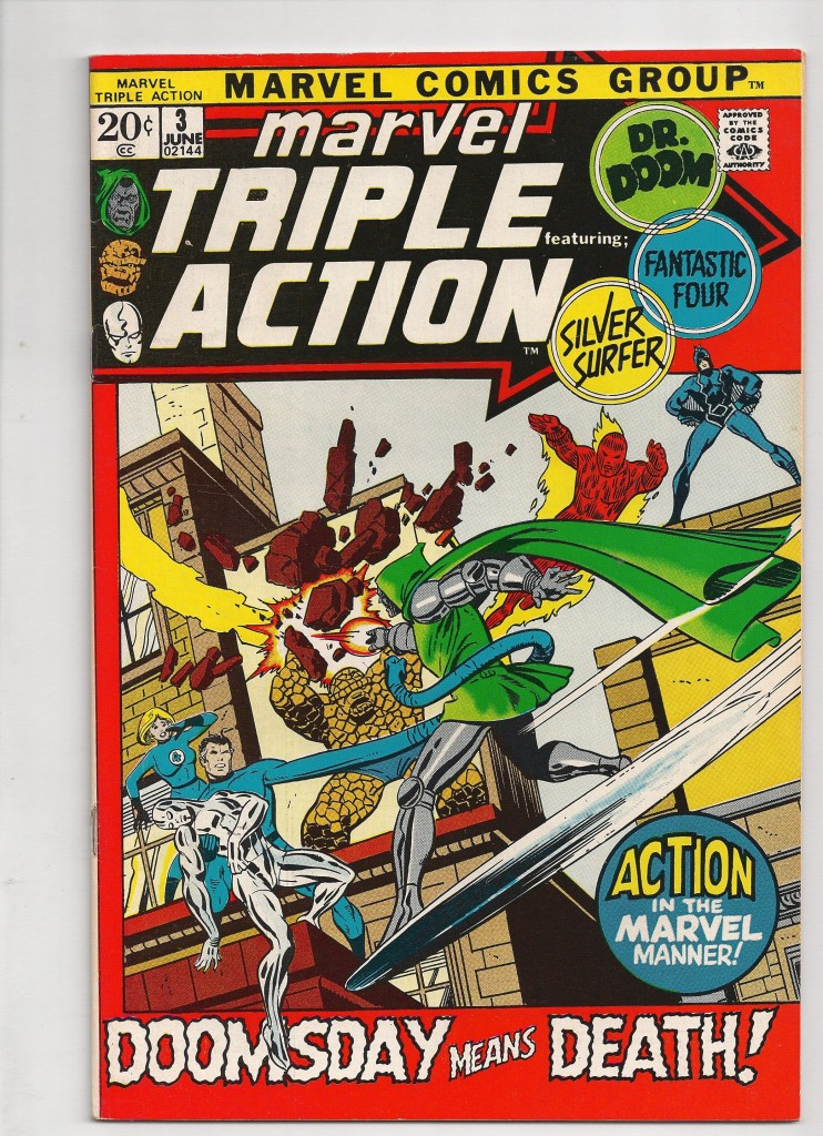 Marvel Triple Action # 3 $10.00