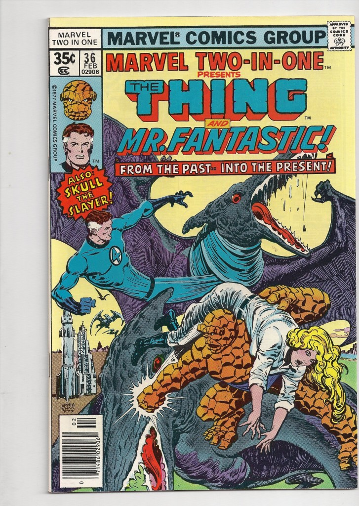 Marvel Two In One # 36 $10.00
