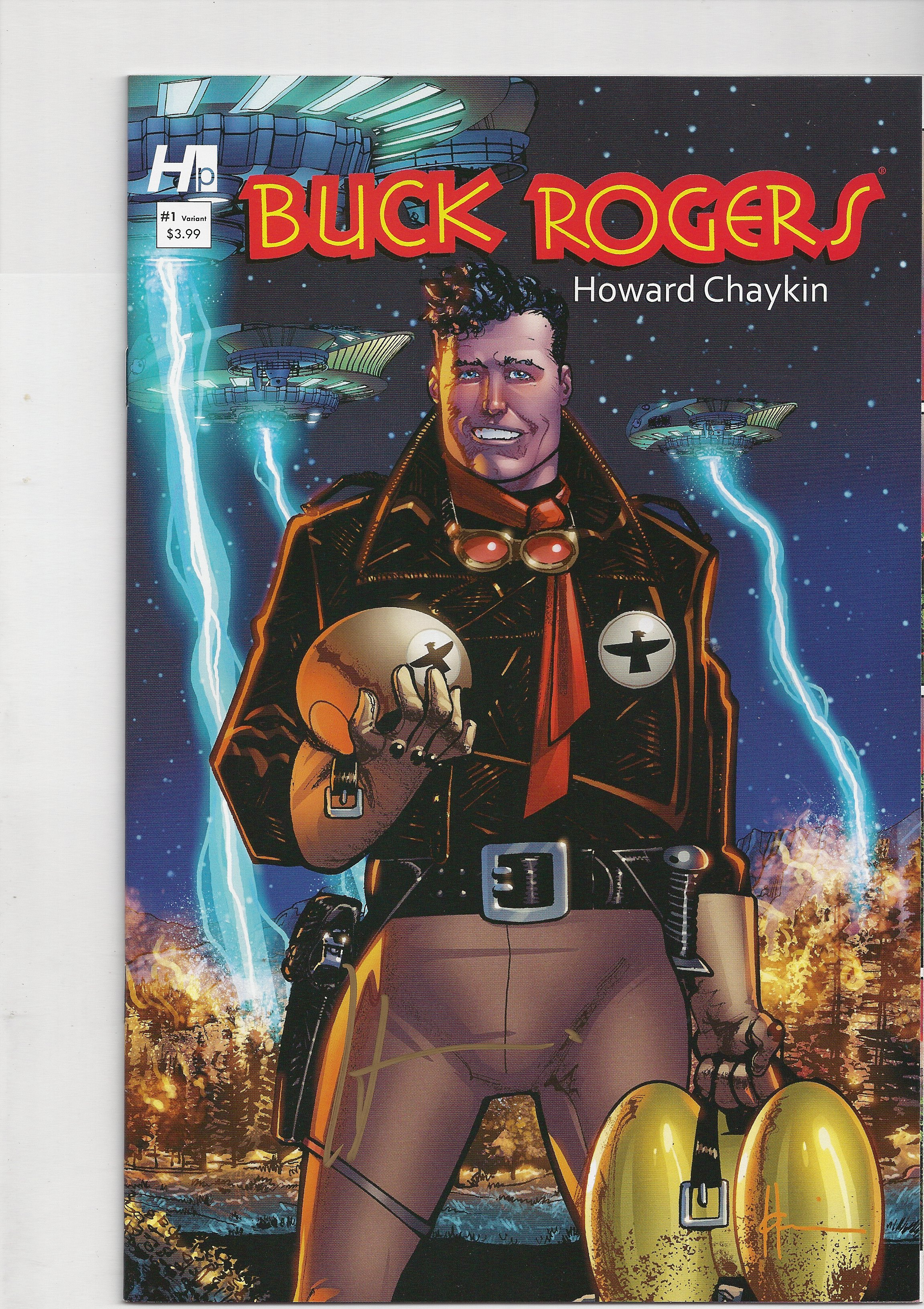 Buck Rogers # 1 - Added to The Comics4Kids INC comic book reading library Special Collections - As Howard Chaykin's art style is without peer and will be preserved for many generations!