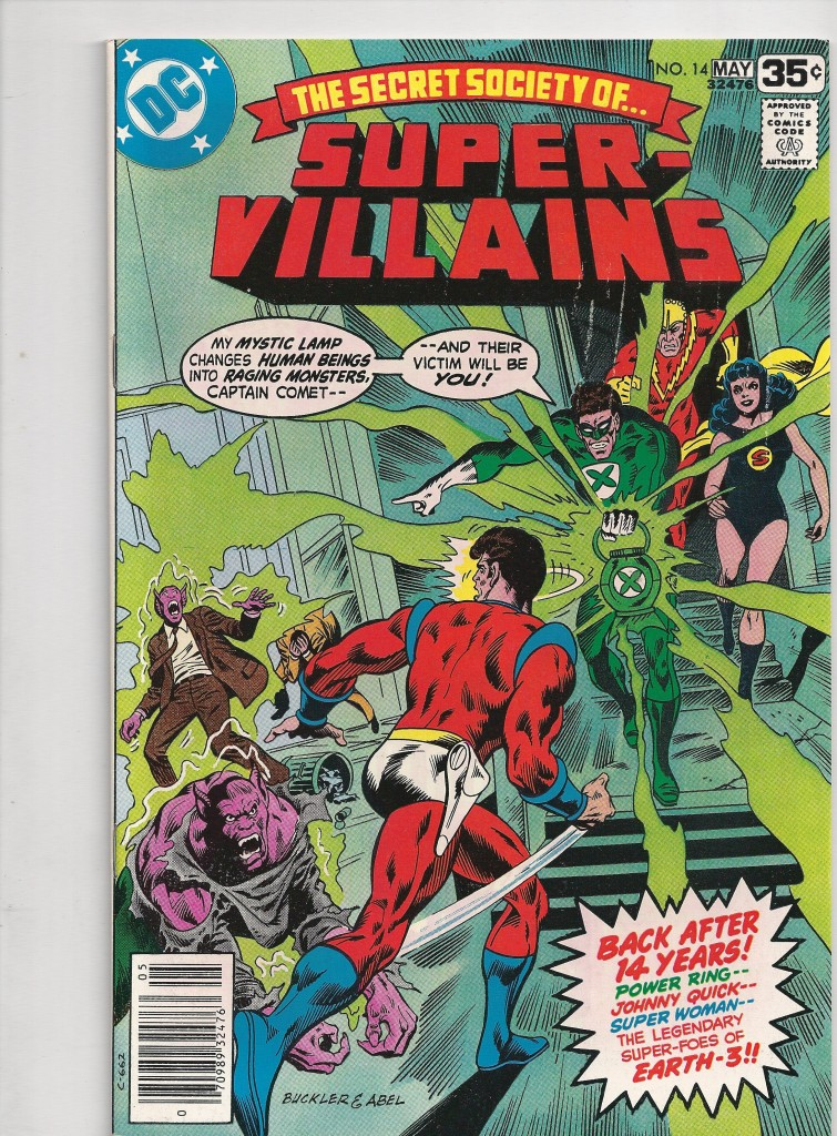 Secret Society of Super Villains # 14 NM $ 15
