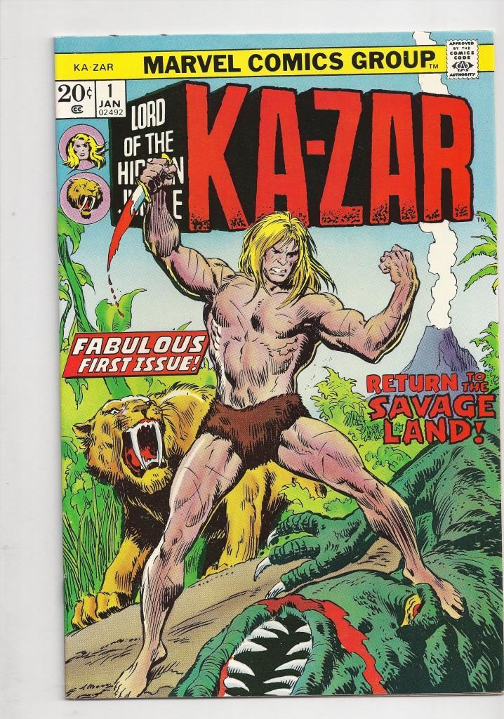 Ka-Zar # 1 NM $ 25