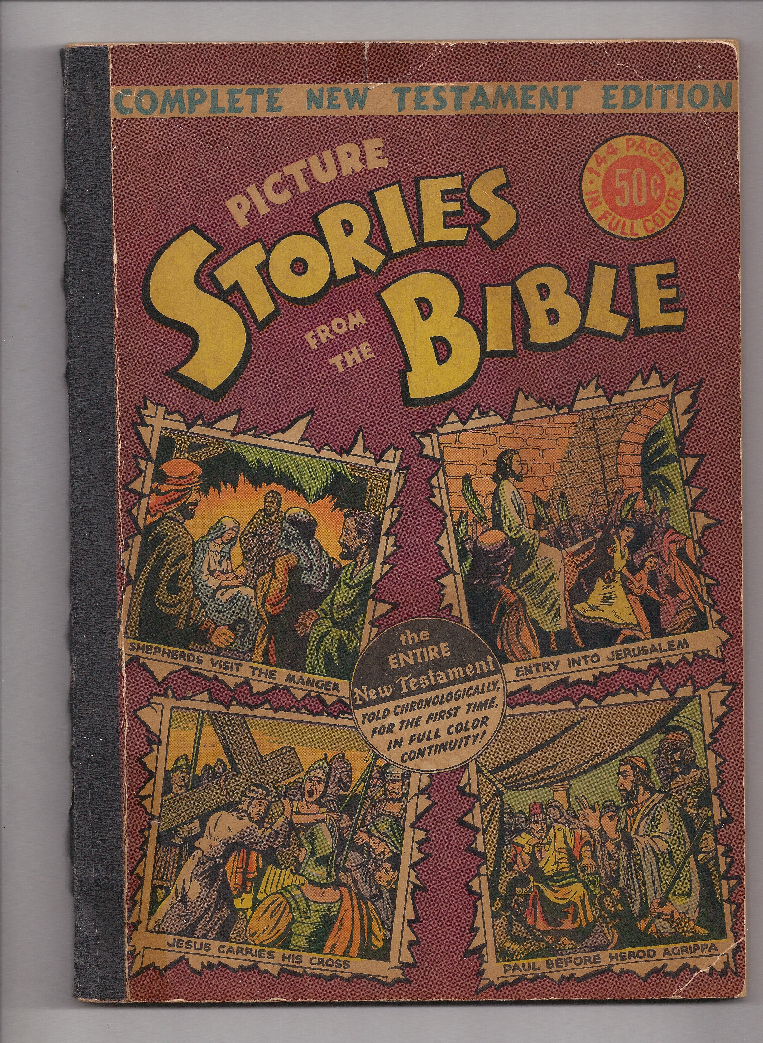 Picture stories from the bible New Testament compilation 1946