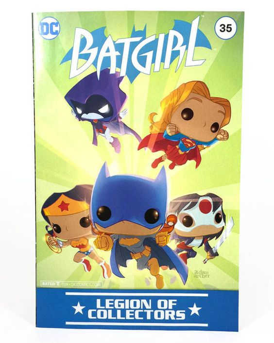 Batgirl  # 35  DC Legion of Collectors Variant sealed $15 includes shipping! ** Rated Teen+ **