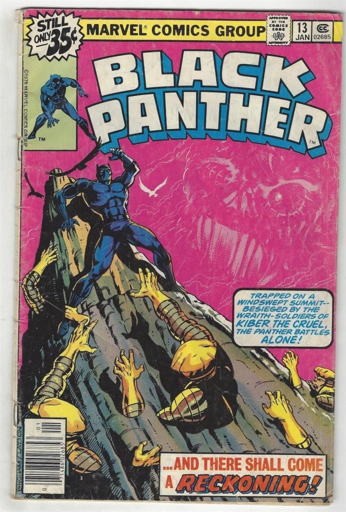 Black Panther # 13