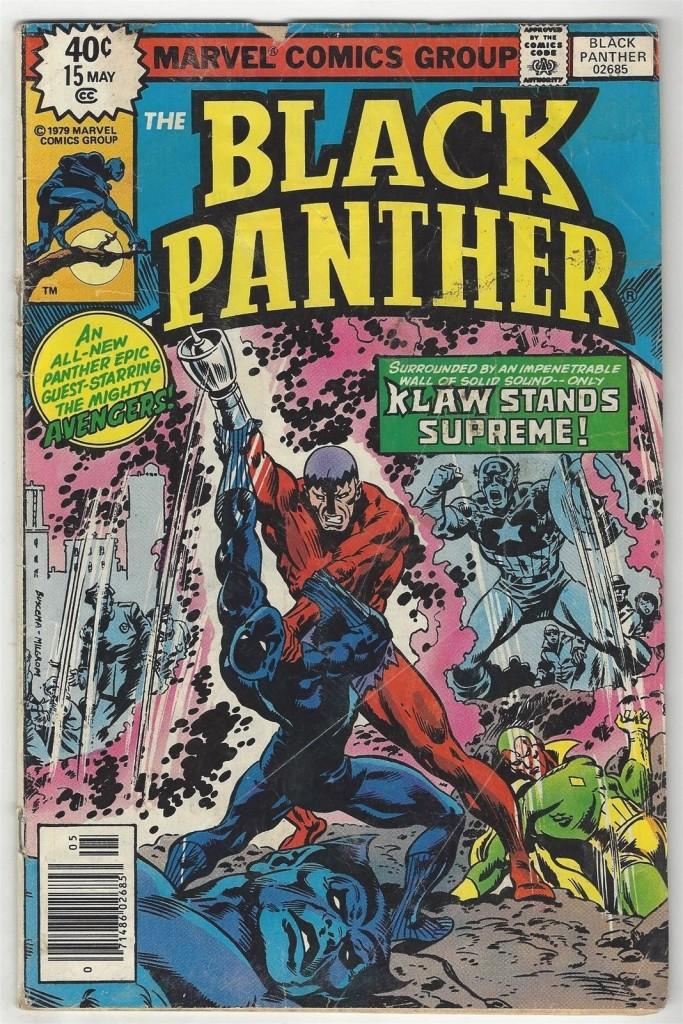 Black Panther # 15