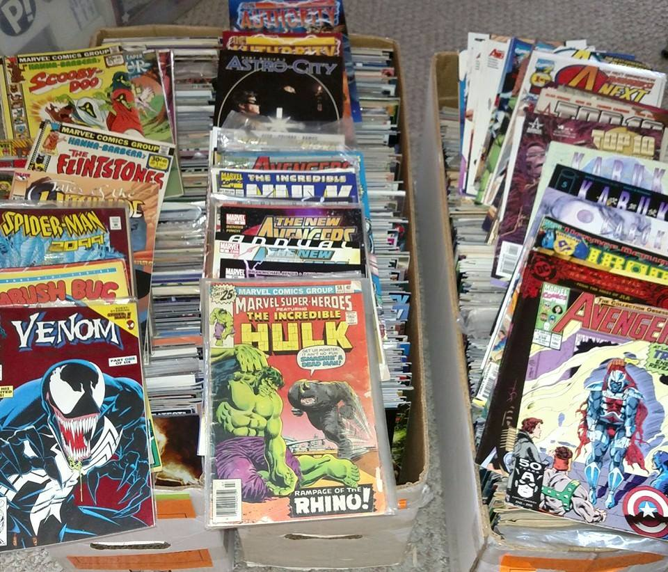 Thank You so much Comics Dungeon for the 1,107 comics!!
