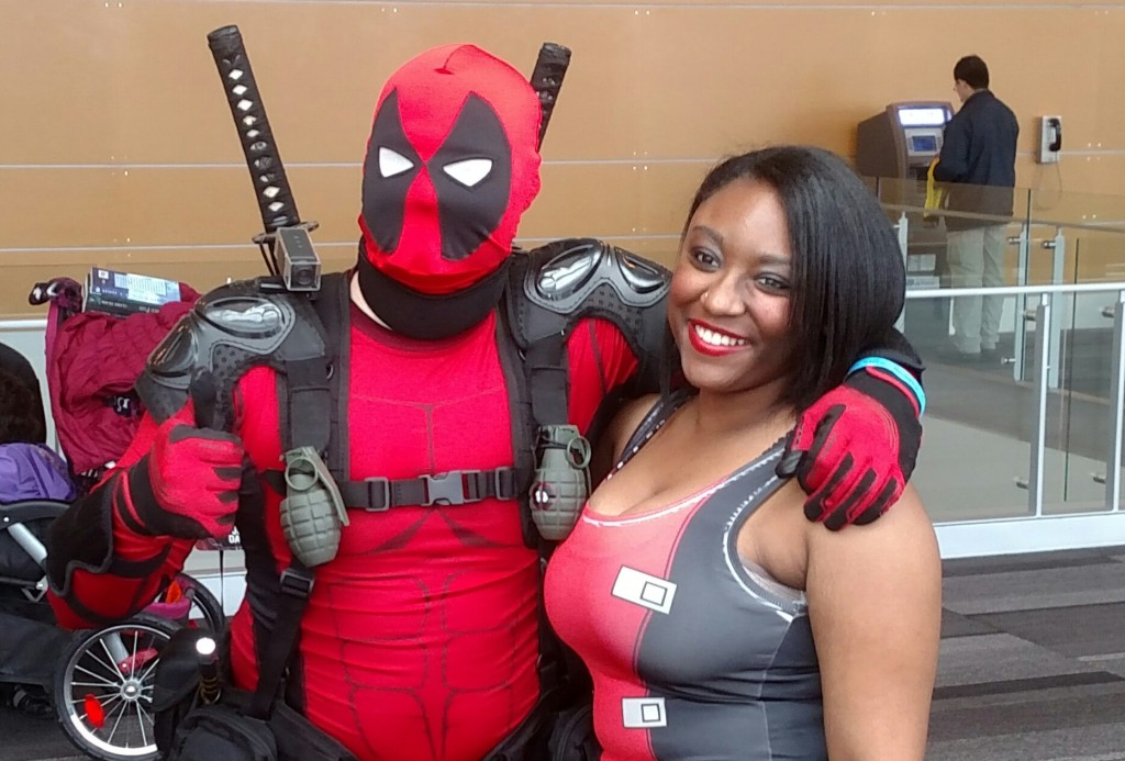 Lily and deadpool @ JCCS 2015