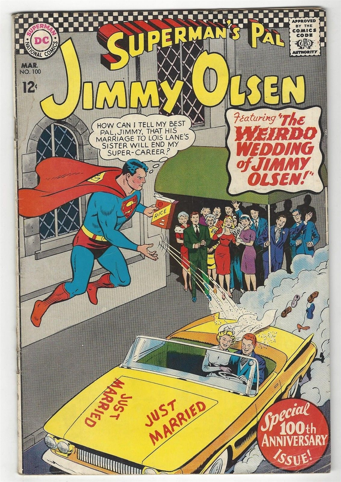 Superman's Pal, Jimmy Olsen # 100