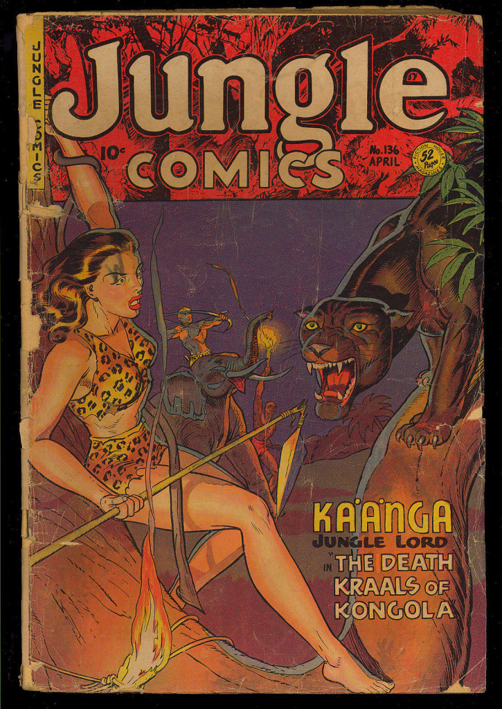 Jungle Comics 136
