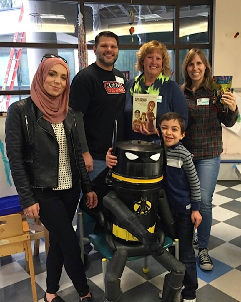 First Annual Yasmeen Legacy with Kadri Mike Luckie Hilja HitchBAT and Soos at Seattle Children's Hospital Nov 23rd 2015 !!