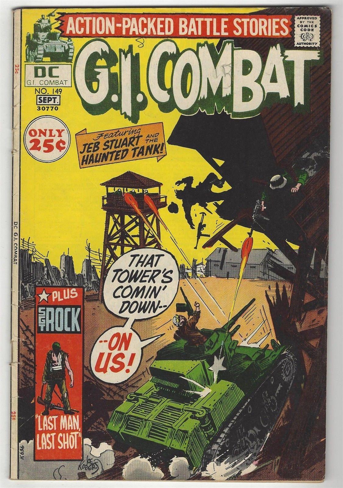 G.I. Combat # 149
