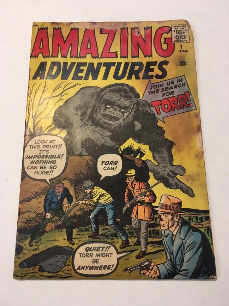 Amazing Adventures # 1
