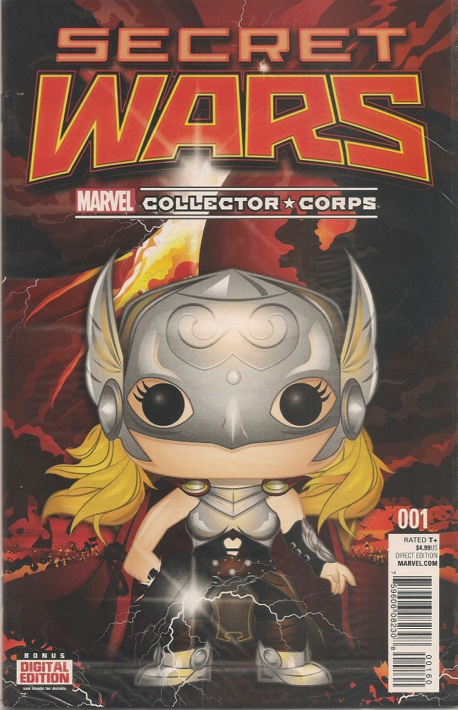 Secret Wars # 1  second print Marvel Collector Corps Variant sealed $10 includes shipping! ** Rated Teen+ **