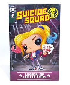 Suicide Squad # 1 DC Legion of Collectors Variant sealed $50 includes shipping! ** Rated Teen+ **