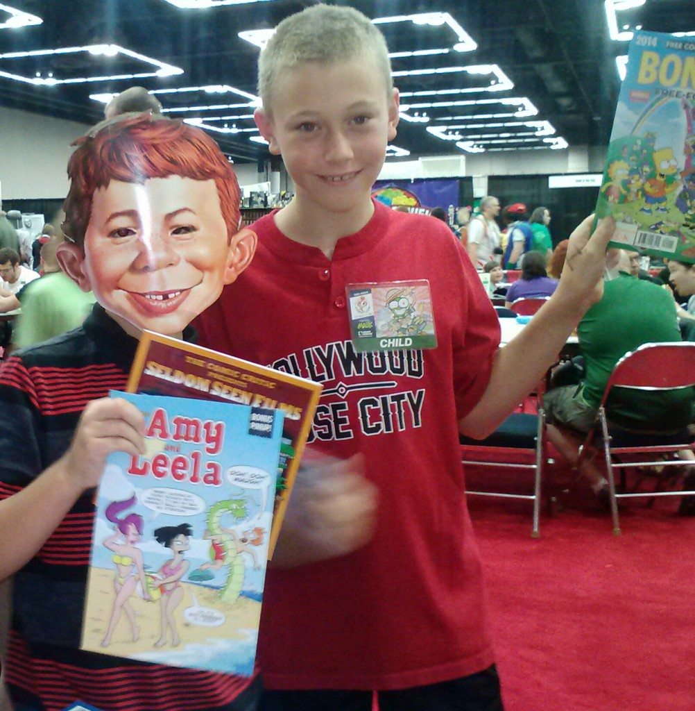 table kids comics
