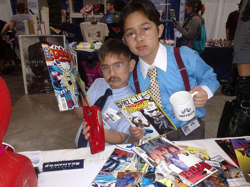 INITECH makes an appearance at WonderCon! LOL!!