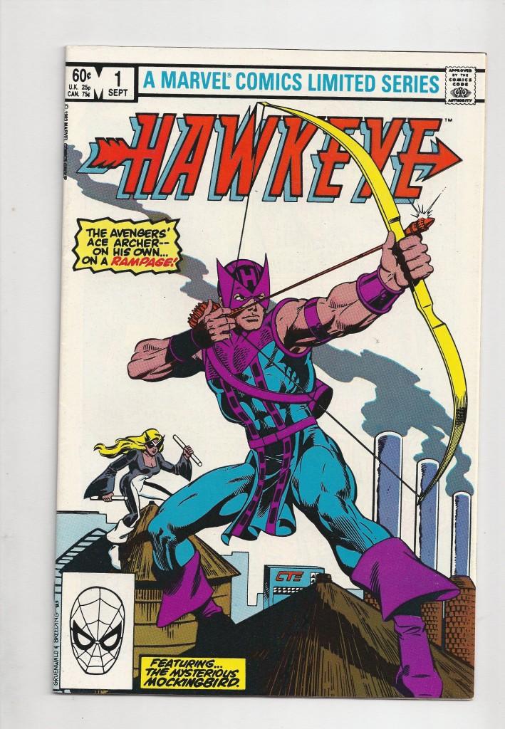 Hawkeye 1 $10.00