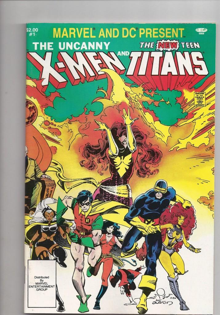 Marvel and DC Comics Presents # 1