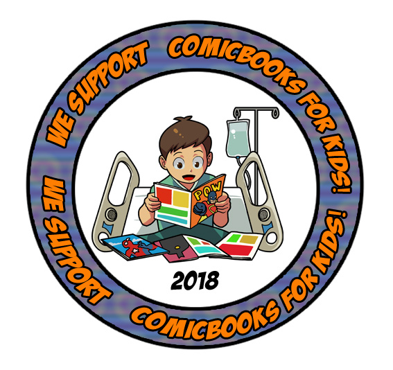 We appreciate like minded individuals! Check out MARK and his team working out of the Midwest! Servicing hospitals with new comics for the kids!!