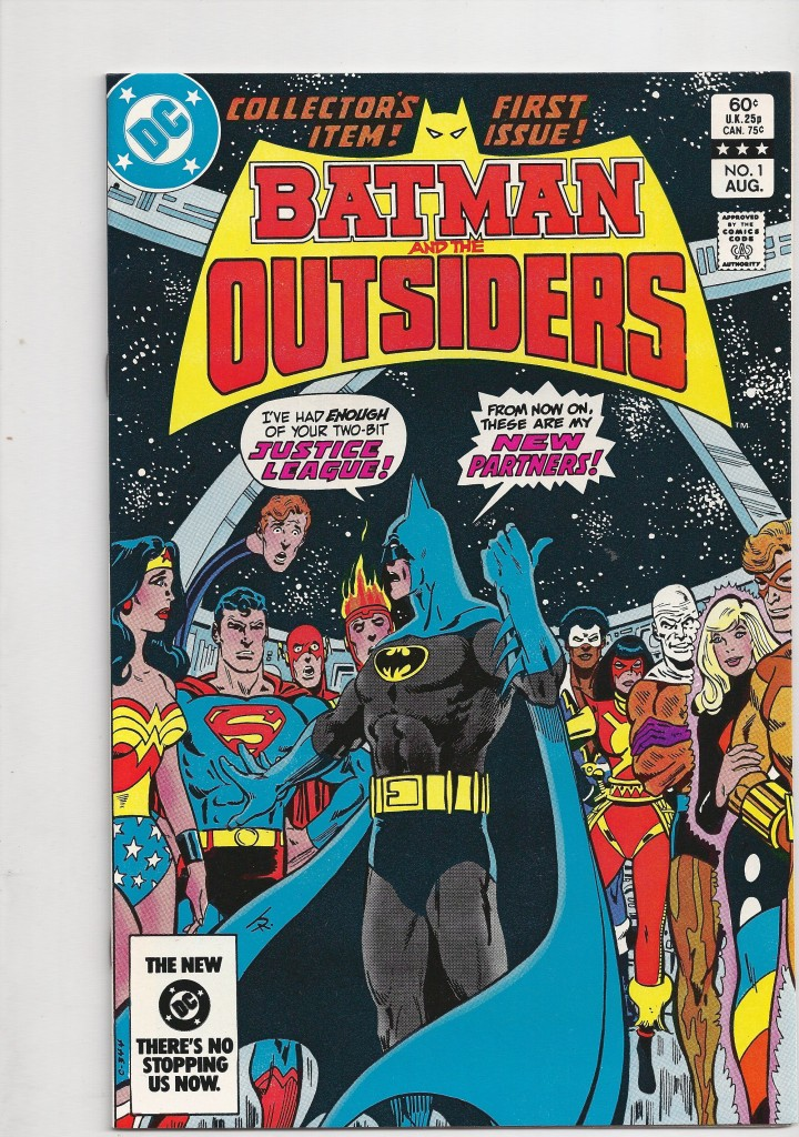 Batman and the Outsiders 1 NM $100