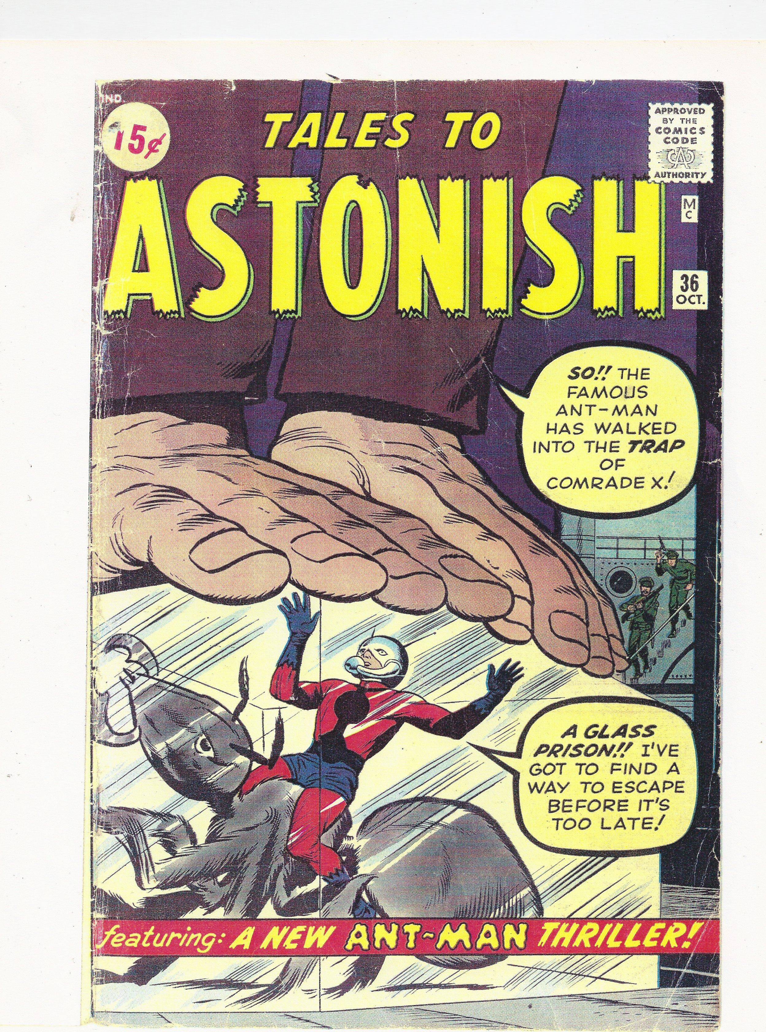 Tales to Astonish 36