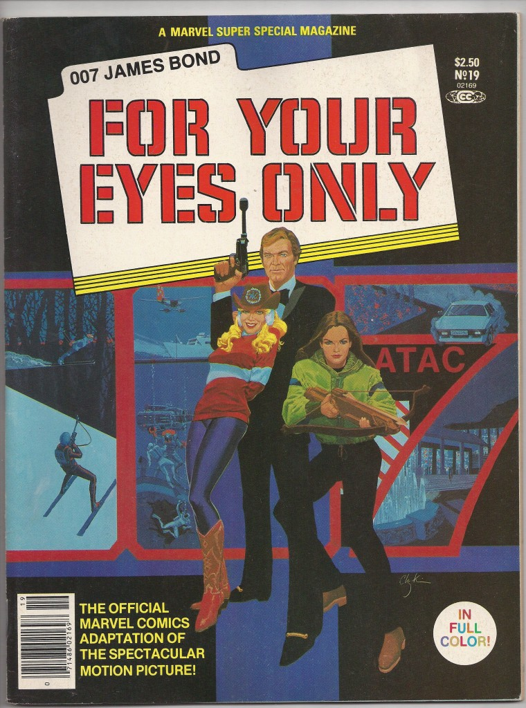 Marvel Super Special 19 James Bond For Your Eyes Only