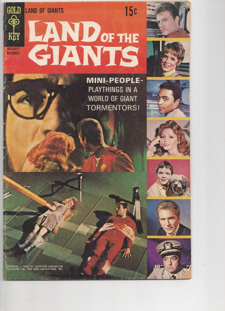 Land of the Giants 1  Fine $25.00