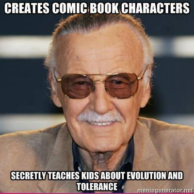 """Comics4Kids, I Love What YOU Do!"" - - Stan Lee"