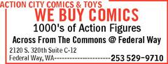 Action City Comic Federal Way WA