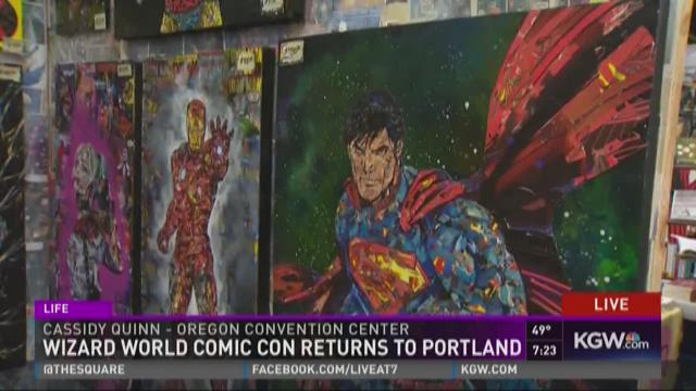 Meet Comics4Kids INC at Wizard World PORTLAND OREGON  April 13 14 15 2018   Oregon Convention Center